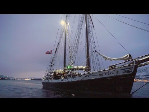 Opal - The Hybrid-Electric Two-Mast Schooner