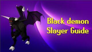OSRS: Ultimate Black Demon Slayer Guide (2007 Old School RuneScape) 2015 [HD]