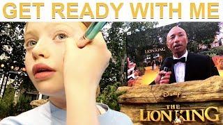 GRWM For The Lion King Movie Premier Red Carpet Family London Vlog 2019 Ruby Rose UK