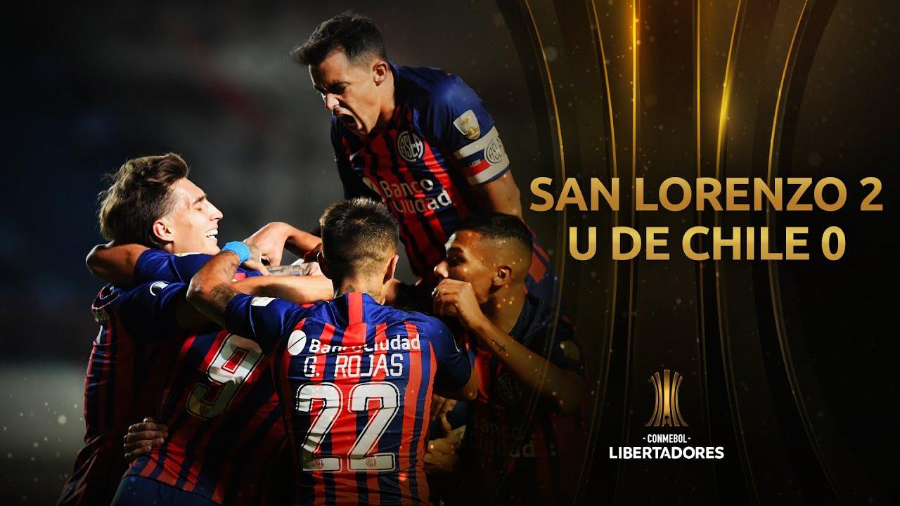 San Lorenzo vs. U. de Chile [2-0] | RESUMEN | Fase 2 | CONMEBOL Libertadores 2021