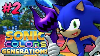 DAMN IT, KNUCKLES! | Sonic Colors Generations w/ Mods #2