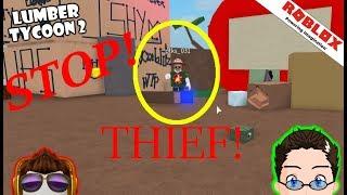 Roblox - Lumber Tycoon 2 - Building my hou..... THIEF!