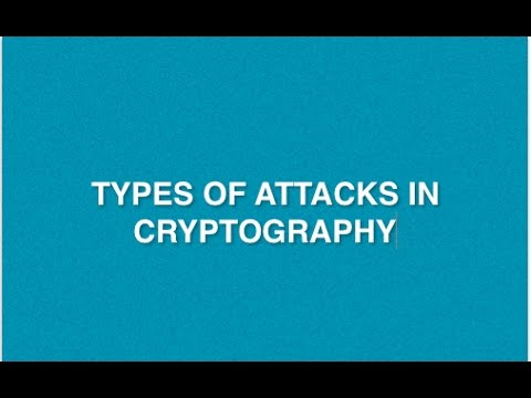 Attacks : Types of attacks in Network Security | Cryptography | Security Goals in Cryptography