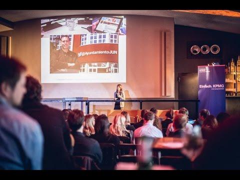 #SNMUC - Christiane Germann über Social Media in Behörden