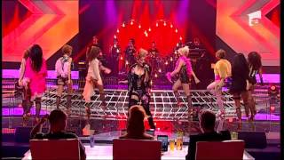 Balet X Factor 2012 - Ioana Anuta - Lady Marmalade
