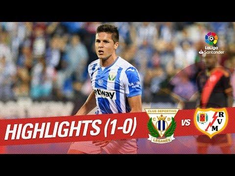 Resumen de CD Leganés vs Rayo Vallecano (1-0)
