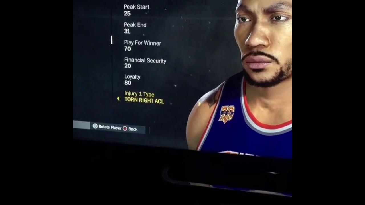 d9f27b178993 Derrick Rose NBA2K Rating Adjusted - YouTube