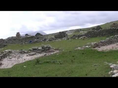 Innishkea South: Abandoned Houses