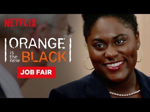 Taystee Wins The Job Fair | Orange Is the New Black | Netflix