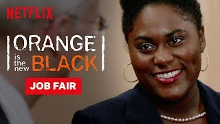 Taystee Wins The Job Fair | Orange Is the New Black | Netflix