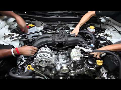 Edelbrock E-Force Supercharger FRS / BRZ Install