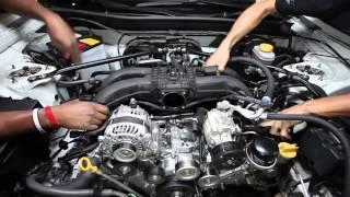 Edelbrock E-Force Supercharger FRS / BRZ Install