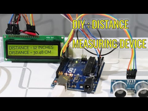 How To Make Distance Measuring Device