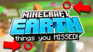 Hidden Clues You MISSED in the MINECRAFT EARTH video