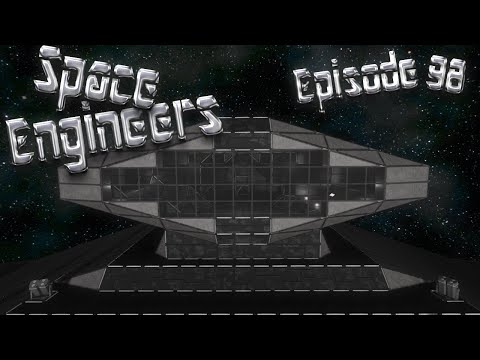 Let's Play Space Engineers - Episode 98: Solar Panel Windows?!