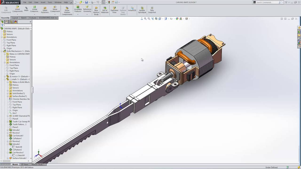 How to save a SOLIDWORKS assembly as a part file