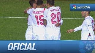 Espectacular golazo de Diogo (1-1) en el Sevilla FC - RCD Espanyol