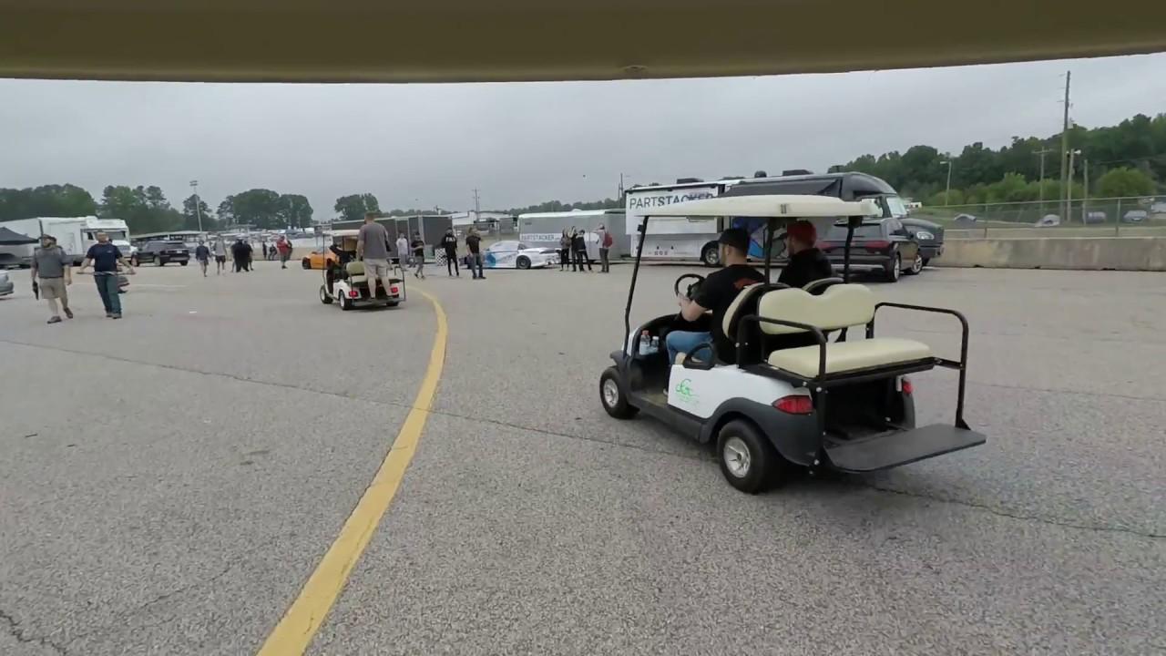 Formula Drift Golf Cart Video
