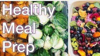 Weekend meal prep! [vegan, no sugar, no flour]