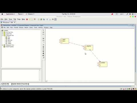 5 create component diagram using rational rose - How To Draw Component Diagram In Rational Rose