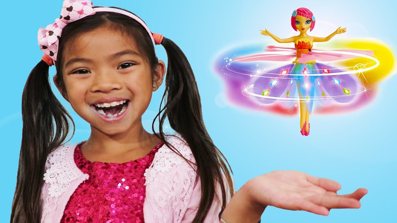 Emma Pretend Play con Hada Voladora Flying Flutterbye Fairy    Juguetes para niñas