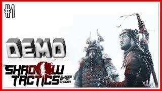 10/10 - ПРОХОЖДЕНИЕ Shadow Tactics: Blades of the Shogun DEMO - #1