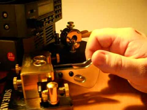 4 - iw3ids and sample paddle manipulation, With Begali Magnetic Classic