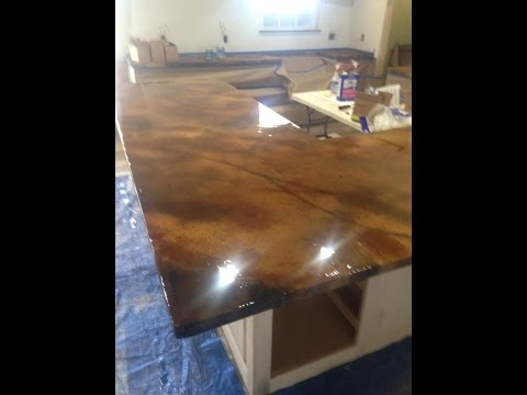 Concrete Countertop From Start To Finish by Ken's Custom Designs