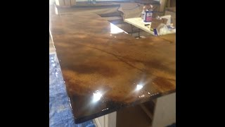 Concrete Countertop From Start To Finish by Ken