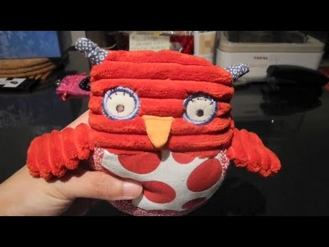 Cute Owl music box baby toy