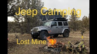 Jeep Camping Overland Style - Lost mines, Gear, Camp Cooking & Living Free