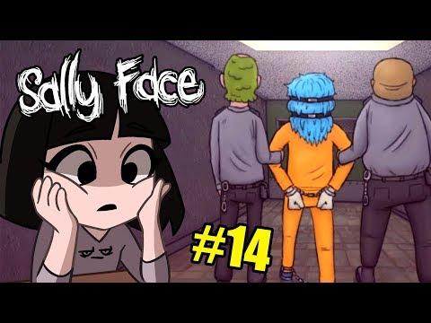 СУД НАД САЛЛИ? Что натворил Салли Фейс в игре Sally Face Эпизод 4 часть 14