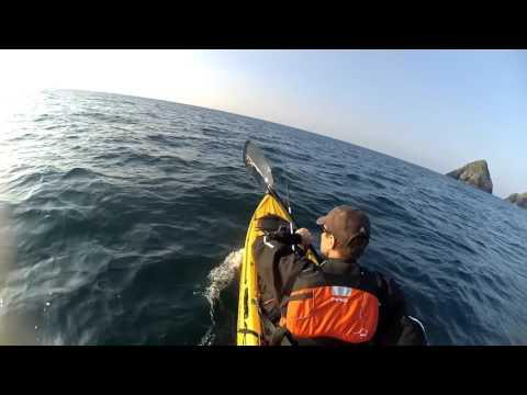 Kayak fishing Mayo, Ireland