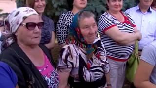 Жители с. Розовое поблагодарили Валерия Радаева за выполненные обещания