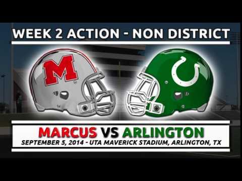 9/5/2014: Marcus vs Arlington
