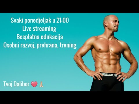 Live Streaming Fitnes Edukacija 2