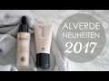 NEU BEI ALVERDE ♡ Dekorative Kosmetik | Naturkosmetik Neuheiten in 2017 | Drogerie