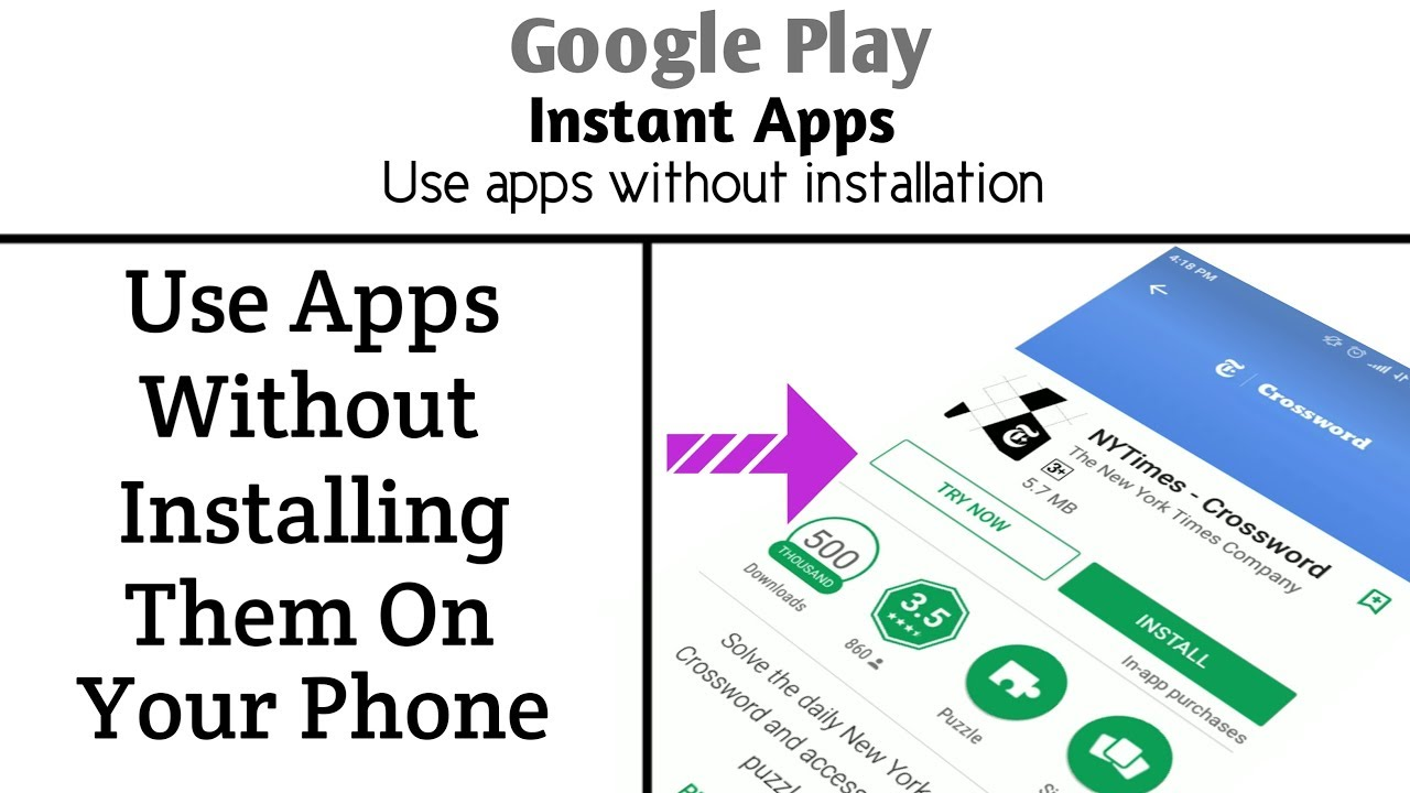 Google Instant Apps || Use Apps Without Installing on Your ...
