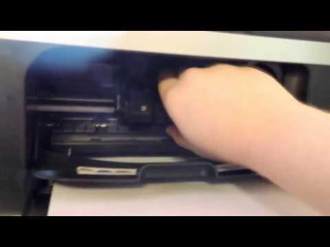 0 - Встановлення картриджа принтер