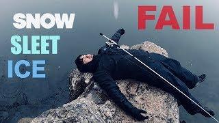 EPIC FAIL FISHING IN WINTER VORTEX STORM!!!!!!!!!!
