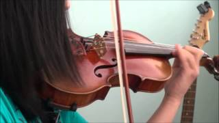 Lindsey Stirling - Crystallize Violin Cover