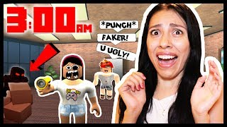 DON'T PLAY ROBLOX AT 3AM! (KILLER STALKER & MEAN PEOPLE!)