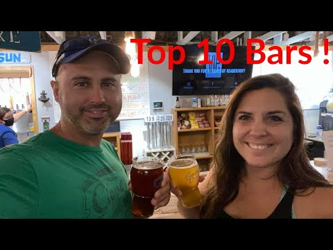 Top 10 BARS And PUBS In PENSACOLA!