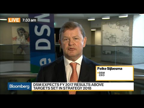 DSM CEO on Earnings, Activist Investors, China