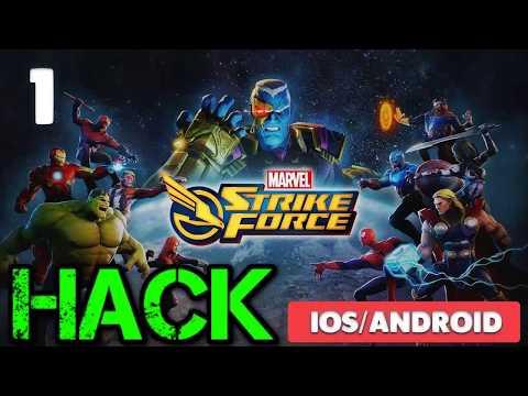 Tutorial for MARVEL Strike Force Hack - MARVEL Strike Force Cheats