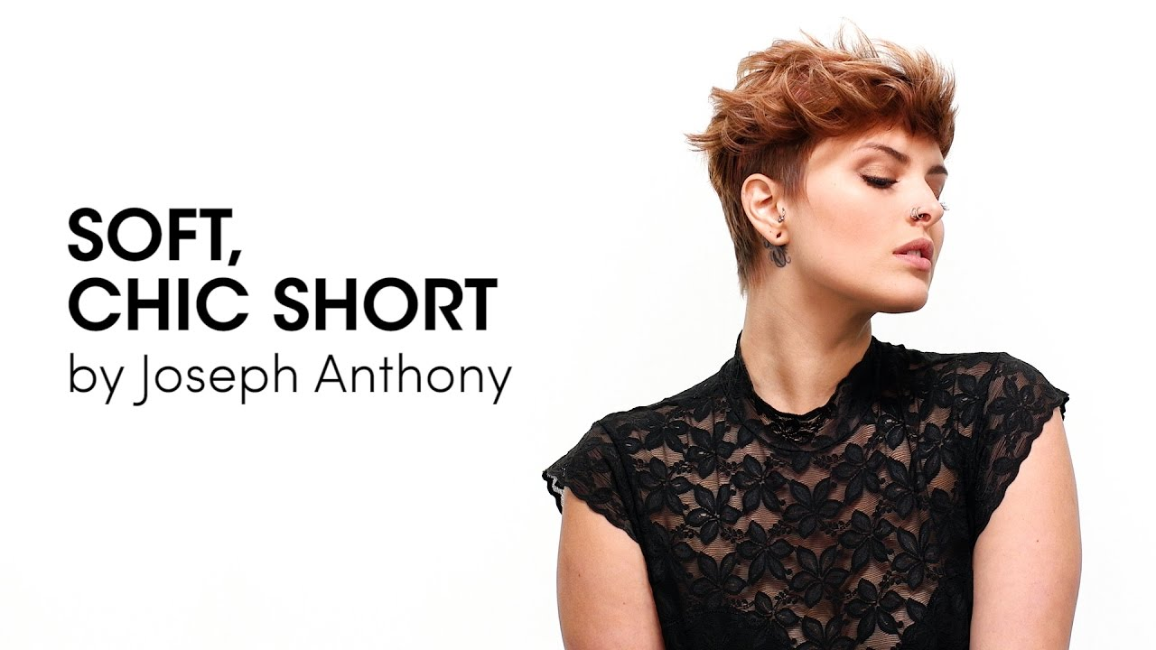 soft, chic, short -- step by step with joseph anthony