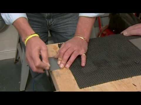 Sharpen Router Bits using Trends Credit Card Hone
