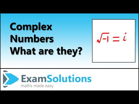 Complex Numbers : Introduction : ExamSolutions
