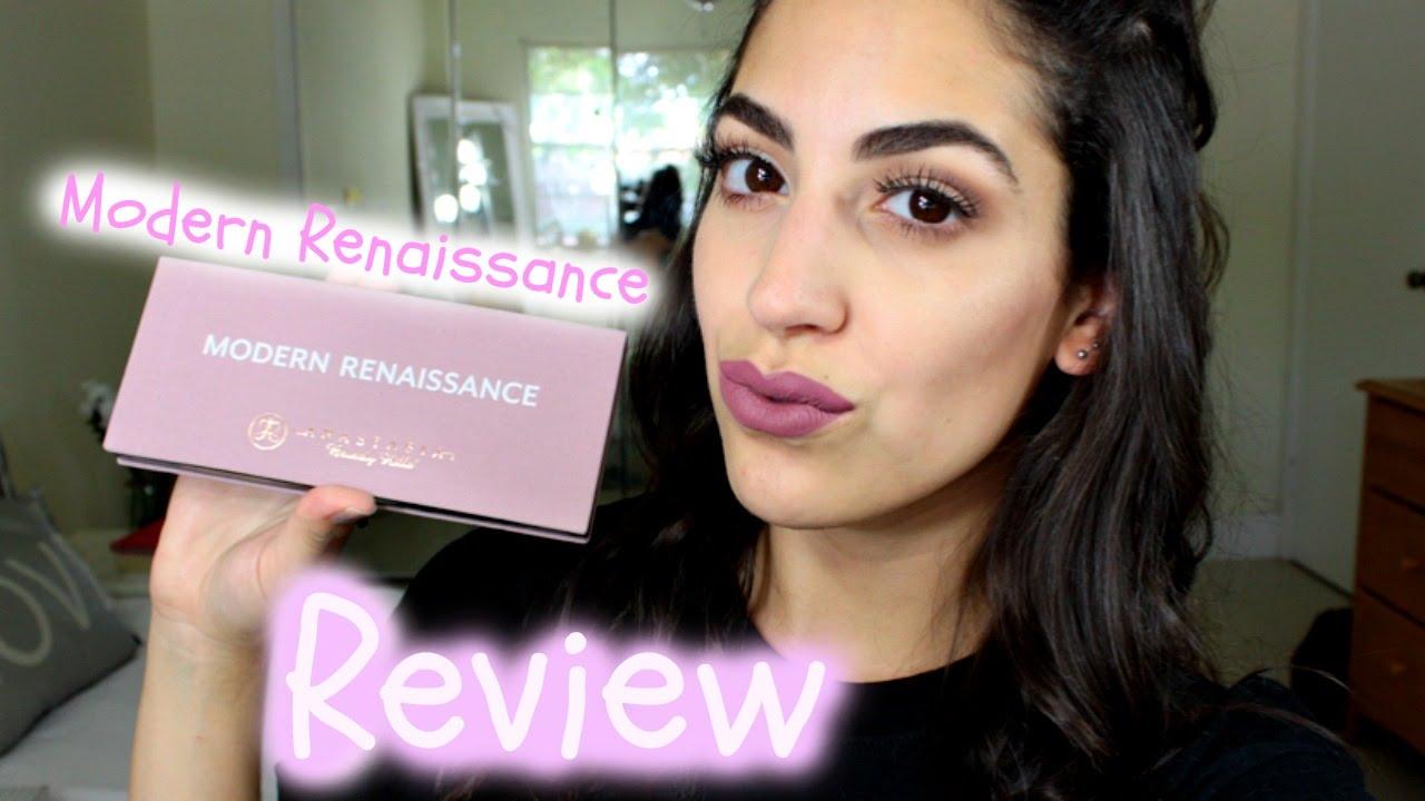 ABH Modern Renaissance Palette   Review + Swatches   Effie