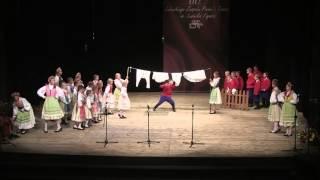 Lubuski Zespół Pieśni i Tańca - 60-lecie - tańce lubuskie - grupa dziecięca